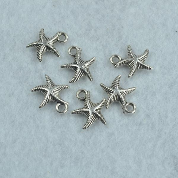 30pcs starfish charms - mobile-boutique.com