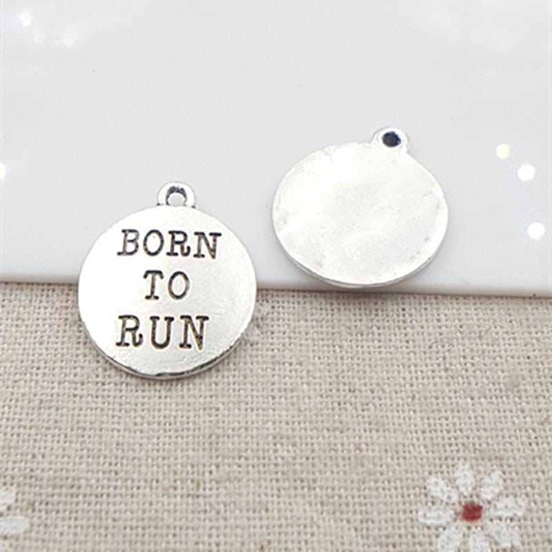 20pc/lot Born to Run charms