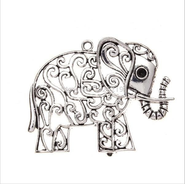 10pcs/lot  Elephant Charms