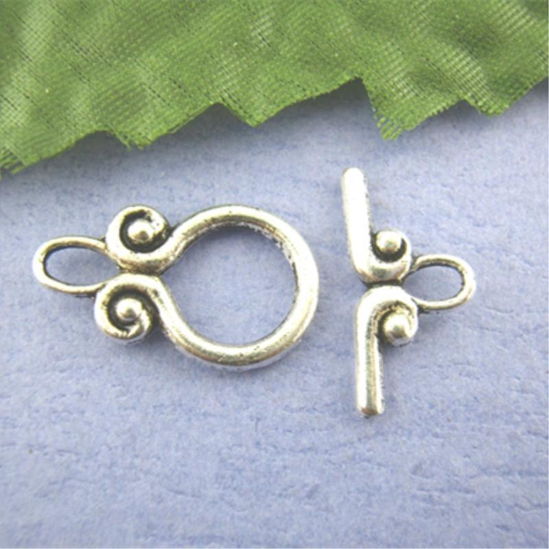 Lovely 30Sets Cucurbit Toggle Clasps