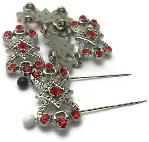 red_rhinestoned_2_hole_silver_beads_nov._1.3