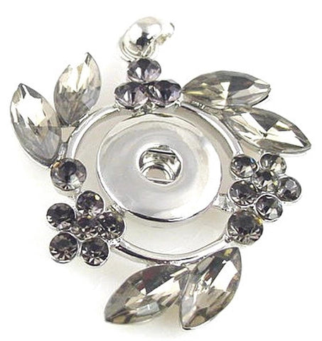 Victorian Style loaded with cz  twinklette pendant 10826-H10