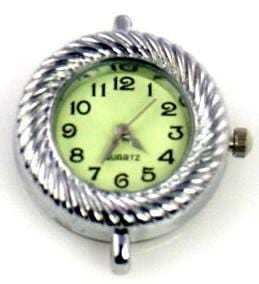 Watch face for beading light green sb739-