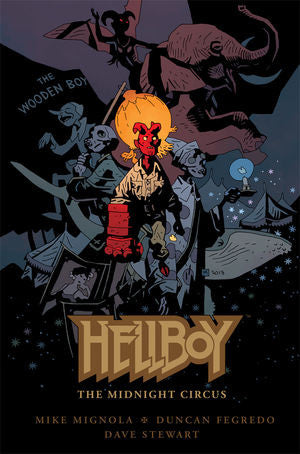 Hellboy: The Midnight Circus (Hardcover)