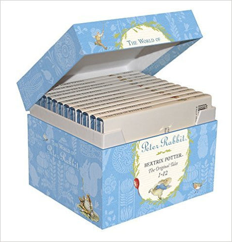 World of Peter Rabbit Gift box (Tales 1 - 12) by Beatrix Potter
