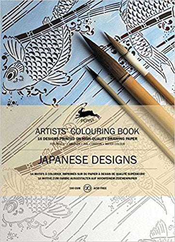PEPIN® Artists' Colouring Book: Japanese Designs