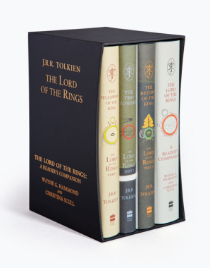 The Lord of the Rings Boxed Set by J. R. R. Tolkien (Anniversary Edition)