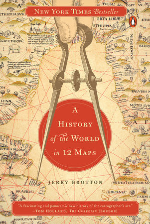 A History of the World in 12 Maps by Jerry Brotton