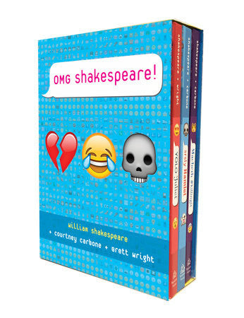OMG Shakespeare Boxed Set by William Shakespeare, Courtney Carbone and Brett Wright