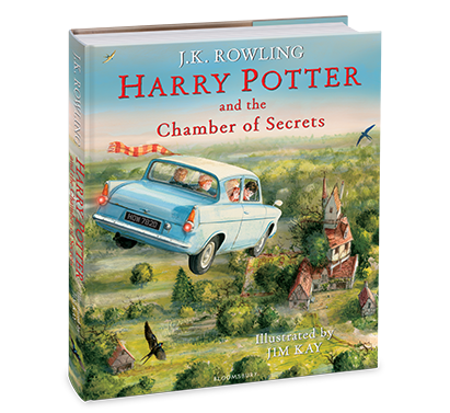 Harry Potter and the Chamber of Secrets Illustrated Edition by J.K. Rowling