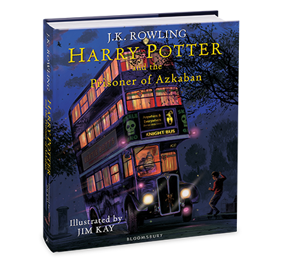 Harry Potter and the Prisoner of Azkaban Illustrated Edition by J.K. Rowling
