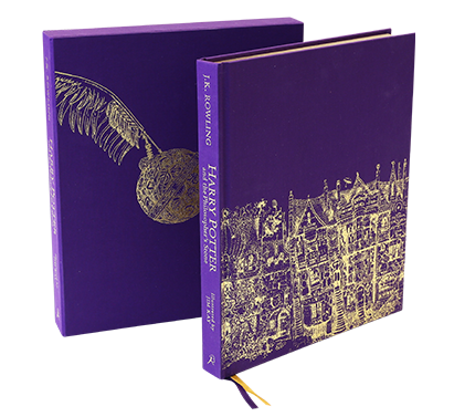 Harry Potter and the Philosopher's Stone Deluxe Illustrated Edition by J.K. Rowling