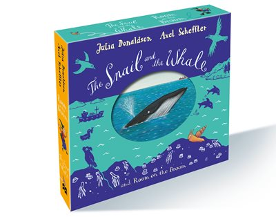 The Snail and the Whale and Room on the Broom board book gift slipcase by Julia Donaldson