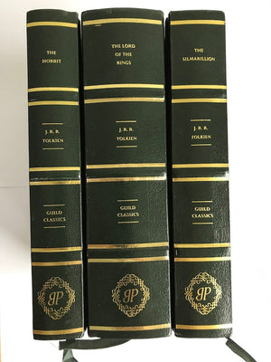 The Hobbit, The Lord of the Rings, The Silmarillion (Set of 3) by J. R. R. Tolkien
