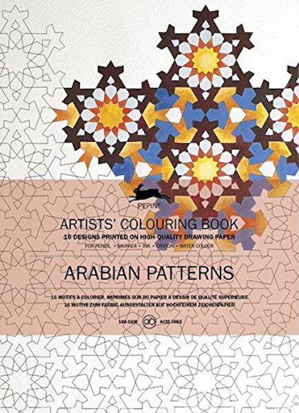 PEPIN® Artists' Colouring Book: Arabian Patterns