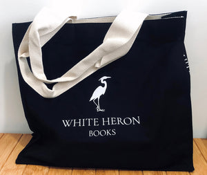 White Heron Books Canvas Bag