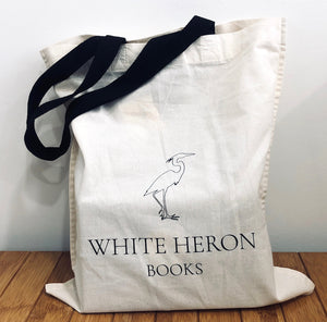White Heron Books Cotton Bag
