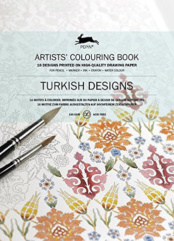 PEPIN® Artists' Colouring Book: Turkish Designs