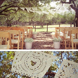 Amor Wedding Garland Banner Papel Picado Fiesta Flags - Decoration outdoor bunting Mexican Hand Cut Tissue Paper Flags
