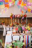 Tissue paper Strands - Fiesta Decoration Garland - Birthday Cinco de Mayo Rehearsal Dinner Paper Papel Picado Banners