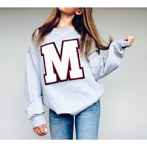 Varsity Sweatshirt - In Stock Letters
