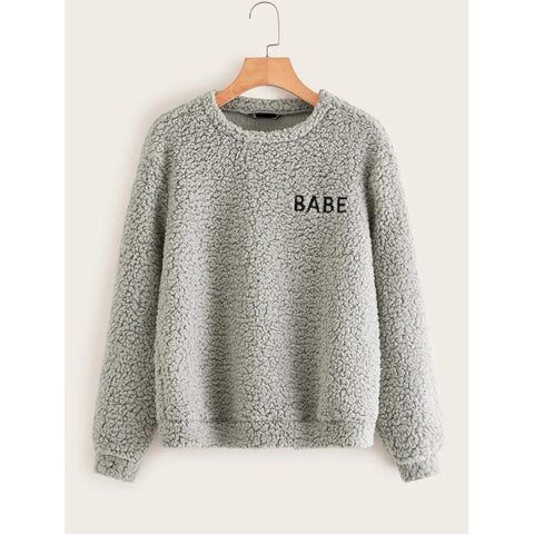 Babe Teddy Sweater
