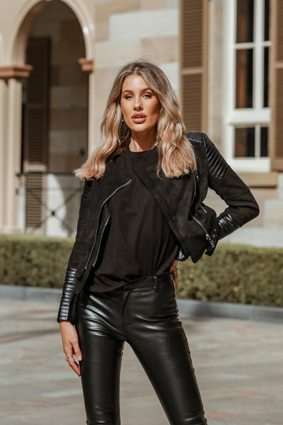Betty Biker Jacket