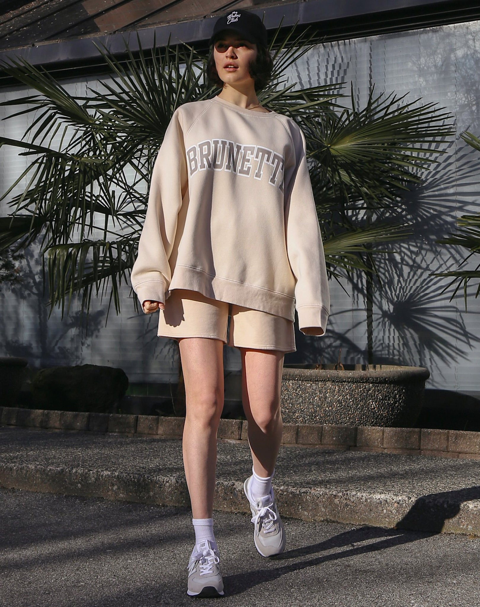 Brunette - Not Your Boyfriend's Crew Neck Sweatshirt