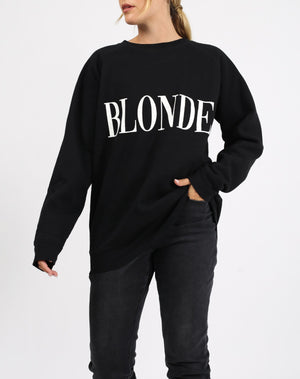 Blonde Big Sister Sweatshirt