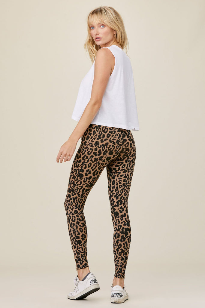 LNA Leopard Leggings