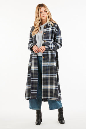 Issaac Plaid Coat