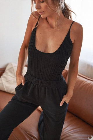 Moda Ribbed Bodysuit