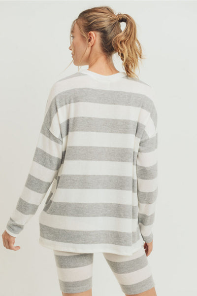 Olly Brushed Knit Sweater