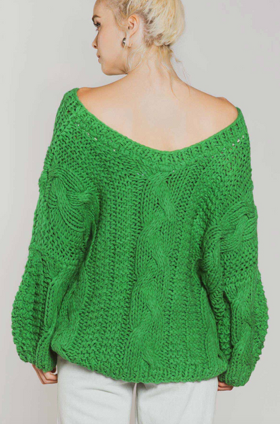 Jason Knit - Kelly Green