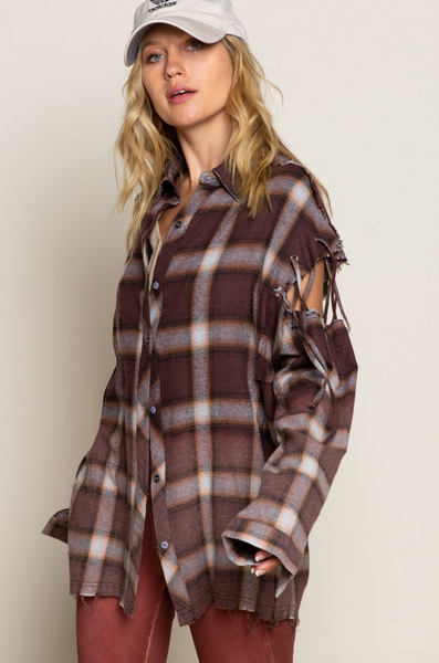Becka Plaid Shirt