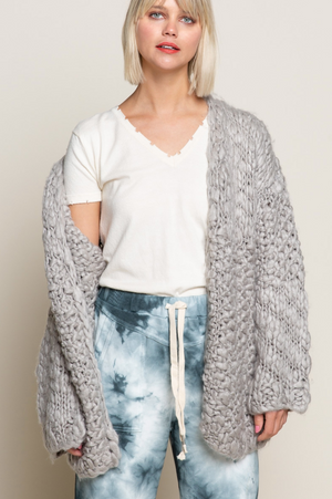 Chester Cardigan - Soft Dove
