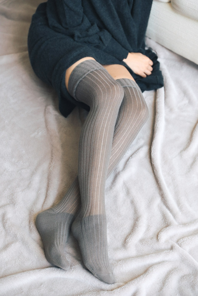 Letto Thigh High Socks - 2 Colour ReOrder