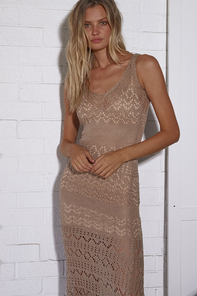 Shauna Knit Maxi Dress