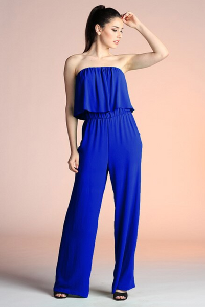 Taylor Jumpsuit - Royal Blue