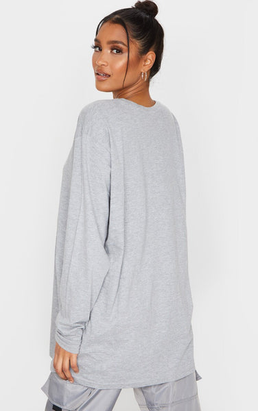 Zero Given-chy Long Sleeve Tee - White