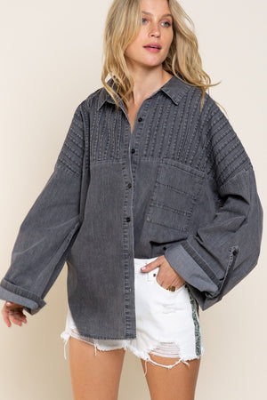 Vinny Denim Shirt