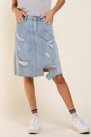 Kira Denim Skirt