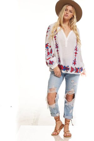 Lola Embroidered Tunic