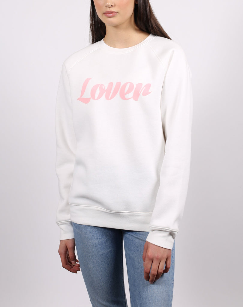 Lover Sweatshirt - Marshmallow
