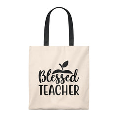 Blessed Teacher Tote Bag - Vintage