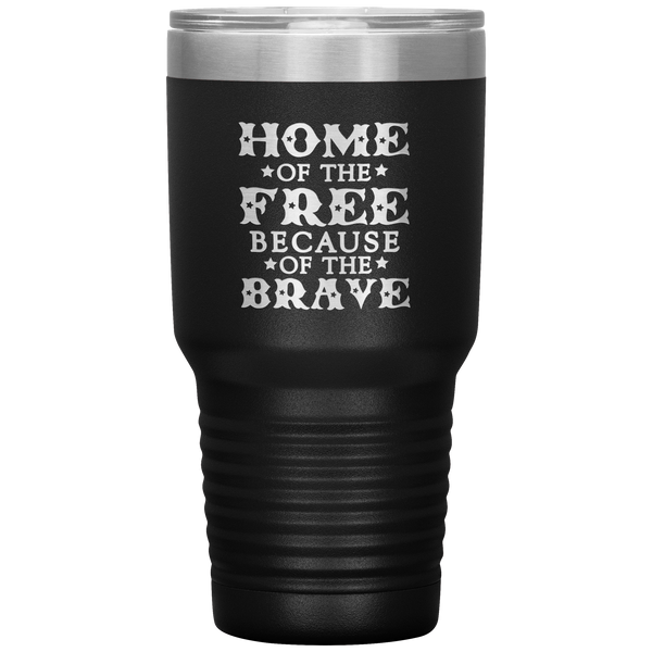 Home of the Free Tumbler