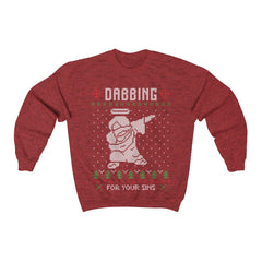 Dabbing Jesus Ugly Christmas Sweater