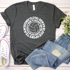 Volleyball Unisex Jersey Short Sleeve Tee