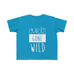 Curls Gone Wild Kid's Fine Jersey Tee