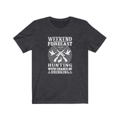 Weekend Forecast Hunting Jersey Short Sleeve Tee